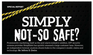 Special Report: Simply Not-So Safe?