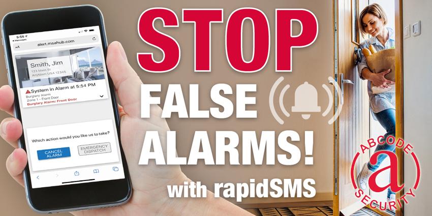 Stop False Alarms!